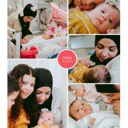 Aisha prematuur geboren met 36 weken, Sofia Kinder Ziekenhuis, sonde, vroeggeboorte