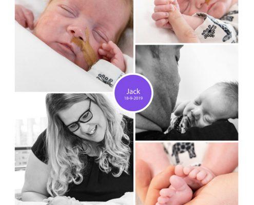 Jack prematuur geboren met 27 weken LUMC, kuffelen, vroeggeboorte, sonde