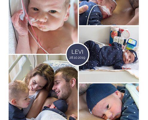 Levi prematuur geboren met 33 weken en 5 dagen, Beatrix ziekenhuis, plecanta previa totalis, gebroeken vliezen, keizersnede, sonde
