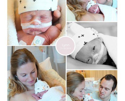 Lynn prematuur geboren met 31 weken, Tjongerschans, couveuse, buidelen, sonde