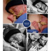 Mason prematuur geboren met 24 weken en 1 dag, longrijping, gebroken vliezen, Ronald McDonaldhuis, buidelen