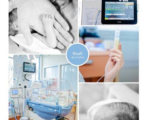 Noah prematuur geboren met 30 weken, longrijping, keizersnede, Gelre Apeldoorn, buidelen, sonde, couveuse
