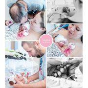 Sophie prematuur geboren met 27 weken,MMC Veldhoven, weeenremmers, longrijping, NICU, buidelen, CPAP, Ronald McDonaldhuis