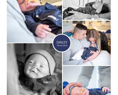 Dailey prematuur geboren met 33 weken en 5 dagen, Sophia Kinder Ziekenhuis, knuffelen, sonde, flesveding, vroeggeboorte