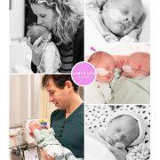 Leah & Julia prematuur geboren met 33 weken, tweeling, Nij Smellinghe, spoedkeizersnede, couveuse, sonde, borstvoeding