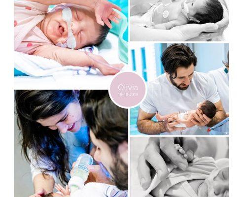 Olivia prematuur geboren met 31 weken, Meander Amsersfoort, longrijping, WKZ, CPAP, couveuse, sonde