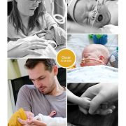 Oscar prematuur geboren met 25 weken en 6 dagen, sonde, vroeggeboorte, pre-eclampsie, UMCG, spoedkeizersnede, CPAP
