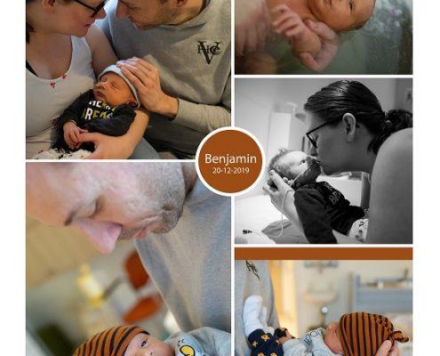 Benjamin prematuur geboren met 36 weken, gebroken vliezen, antibiotica, sonde, neonatologie, Elkerliek