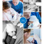 Daan prematuur geboren met 33 weken en 3 dagen, Gelre Apeldoorn, groeiachterstand, keizersnede, couveuse, optiflow, borstvoeding, sonde