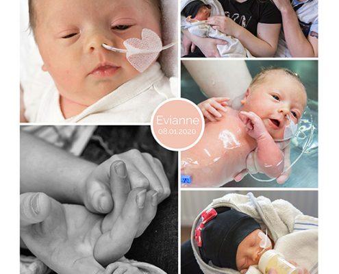 Eviannne prematuur geboren met 34 weken, Beatrix ziekenhuis, couveuse, sonde, badderen