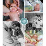 Finn prematuur geboren met 28 weken, Rijnstate, neonatologie, sonde, badderen, flesvoeding