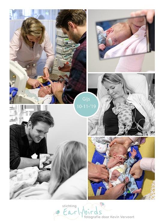 Gijs prematuur geboren met 28 weken en 3 dagen, spoedkeizersnede, dysmatuur, Sophia Rotterdam, sonde