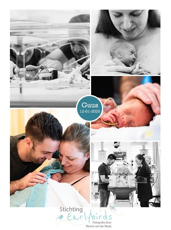 Guus prematuur geboren met 29 weken, spoedkeizersnede, pre-eclampsie, HELLP, CPAP, sonde, buidelen, couveuse