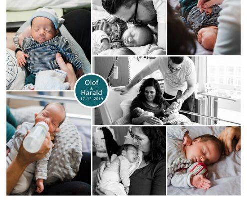 Olof & Harald prematuur geboren met 33 weken, Ijsselland ziekenhuis, tweeling, flesvoeding, knuffelen