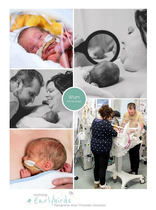 Wum prematuur geboren met 30 weken en 1 dag, vroeggeboorte, buidelen, sonde, couveuse