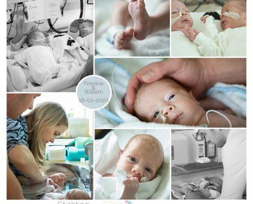 Frenkie & Willem prematuur geboren met 33 weken, Slingeland ziekenhuis, tweeling, badderen, sonde