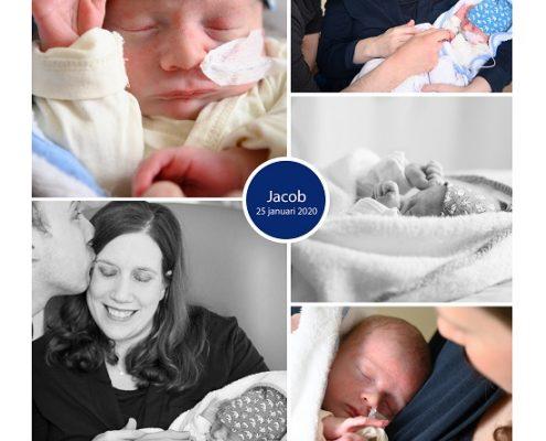 Jacob prematuur geboren met 36 weken, Bernhoven, knuffelen, sonde