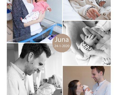 Juna prematuur geboren met 35 weken, Bernhoven, weeenremmers, longrijping, sonde