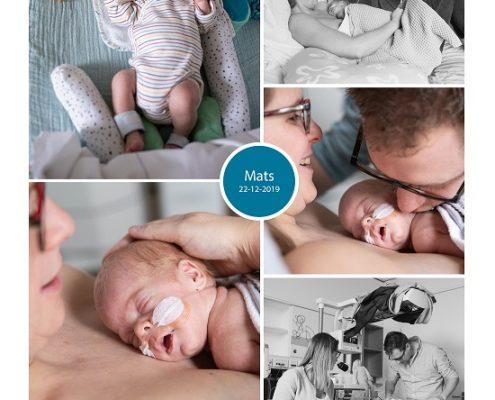 Mats prematuur geboren met 30 weken, spoedkeizersnede, NICU, MMC Veldhoven, JBZ, buidelen, sonde