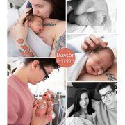 Mayson prematuur geboren met 28 weken, borstvoeding, Jeroen Bosch ziekenhuis, weeenremmers, longrijping