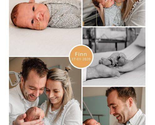 Finn prematuur geboren met 28 weken, ZGT, knuffelen, sonde
