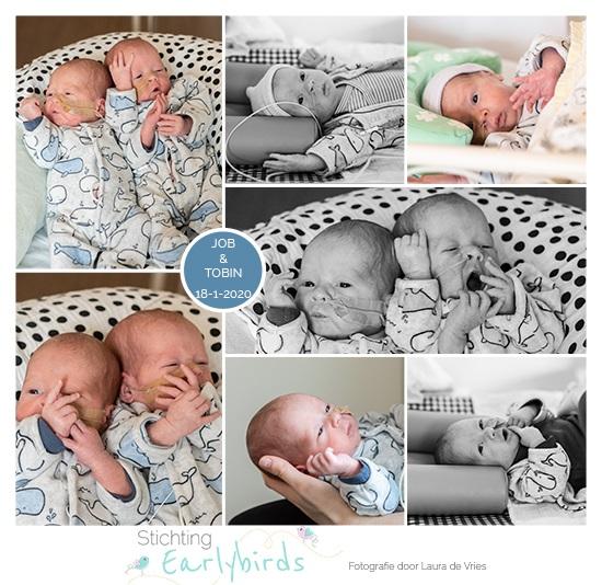 Job & Tobin prematuur geboren met 30 weken en 2 dagen, tweeling, gebroken vliezen, MMC, LUMC, borstvoeding, Groene Hart Gouda, sonde