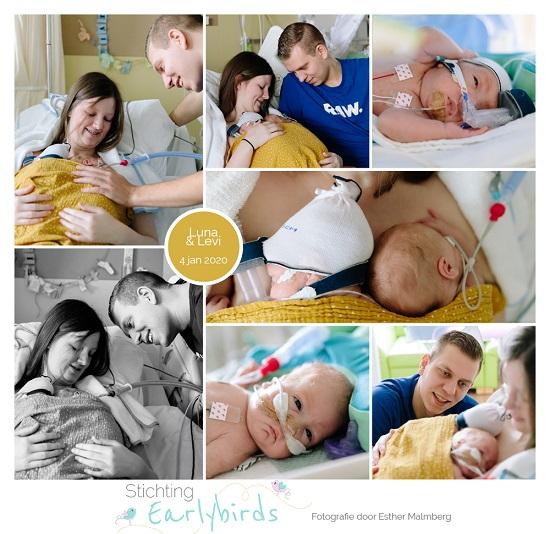 Levi & Luna prematuur geboren met 27 weken en 5 dagen, Groene Hart ziekenhuis, tweeling, gebroken vliezen, NICU, LUMC, VU, sonde, buidelen