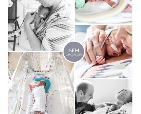 Sem prematuur geboren met 27 weken, VU, weeenremmers, couveuse, Ronald McDonaldhuis, OLVG, buidelen, sonde