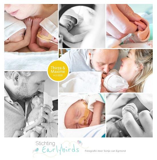 Thirza & Maxime prematuur geboren met 32 weken, tweeling, LUMC, TAPS, buidelen, couveuse, neonatologie, sonde