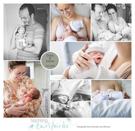 Dries & Janne prematuur geboren met 34 weken, tweeling, Tjongerschans, couveuse, borstvoeding, buidelen