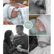 Max prematuur geboren met 29 weken, flesvoeding, sonde, buidelen