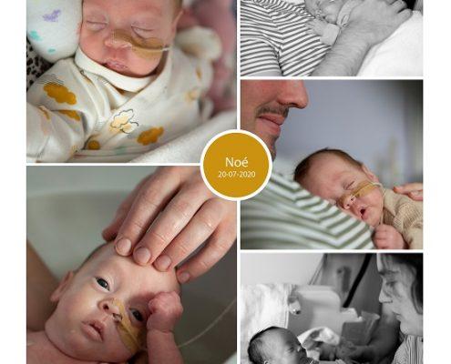 Noé prematuur geboren met 28 weken, NICU, sonde, knuffelen, bevallen, Catharina ziekenhuis