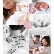 Noë prematuur geboren met 33 weken, vliezen gebroken, weeenremmers, longrijping, Bernhoven, sonde