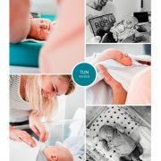 Tijn prematuur geboren met 32 weken, vroeggeboorte, knuffelen