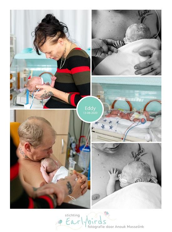 Eddy prematuur geboren met 26 weken, MST Enschede, cpap, couveuse, buidelen, sonde