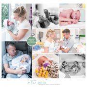 Joshua & Chloé prematuur geboren met 34 weken, SLingeland, tweeling, flesvoeding, sonde, badderen