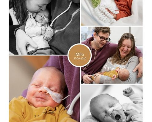 Milo prematuur geboren met 32 weken, Dijklander ziekenhuis, weeenremmers, longrijping, gebroken vliezen, sonde, couveuse, nicu