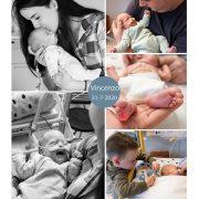 Vincenzo prematuur geboren met 26 weken en 4 dagen, agnesium, longrijping, weeenremmers, keizersnede, antibiotica, MMC Veldhoven, NICU, Elkerliek