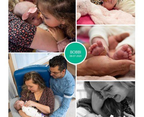 Bobbi prematuur geboren met .. weken, bekkeninstabiliteit, gebroken vliezen, keizersnede, Sophia Kinderziekenhuis, knuffelen, sonde
