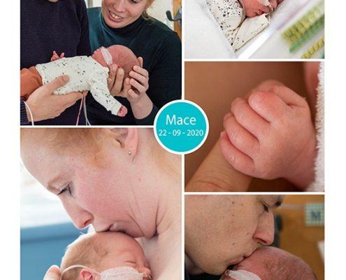 Mace prematuur geboren met 28 weken en 6 dagen, Gelderse Vallei, hoge bloeddruk, zwangerschapsvergiftiging, Hellp, Radboud, keizersede, borstvoeding, buidelen, sonde