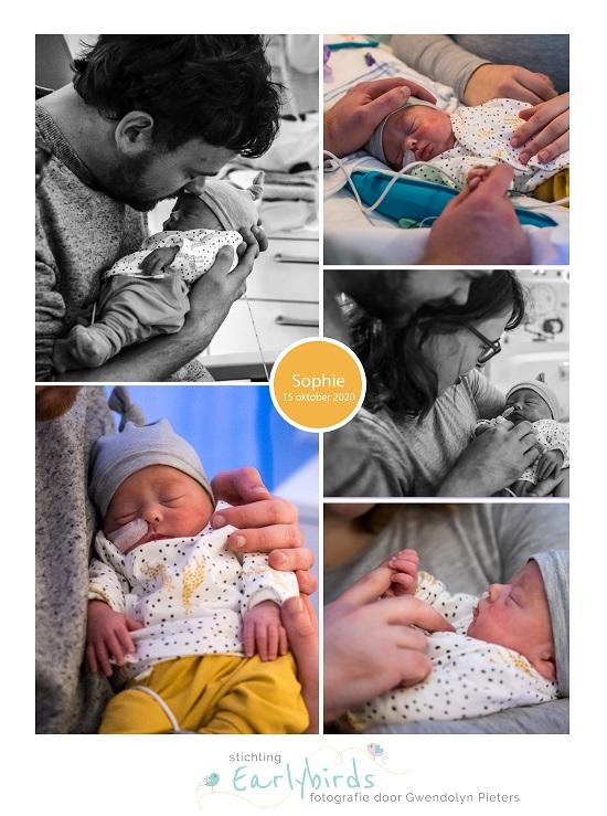 Sophie prematuur geboren met 30 weken en 6 dagen, longrijping, Sophia Kinder Ziekenhuis, sonde