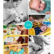 Duuk prematuur geboren met 26 weken.