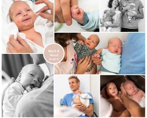Marit en Noud prematuur geboren met 33 weken