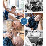 Thijs prematuur geboren met 30 weken.