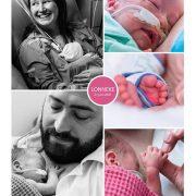 Lonneke prematuur geboren met 29 weken