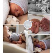 Mick prematuur geboren met 32 weken