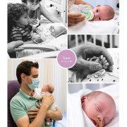 Saar prematuur geboren met 27 weken