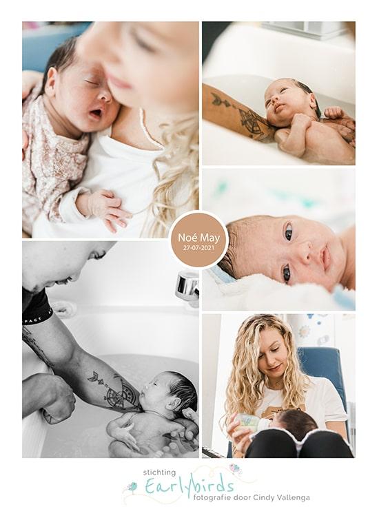 Noé May prematuur geboren met 31 weken