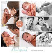 Julia en Mae prematuur geboren