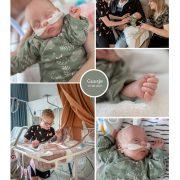 Guusje prematuur geboren met 26 weken en 2 dage, Amphia, longrijping, weeenremmers, keizersnede, sonde